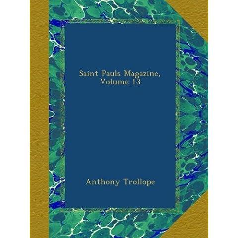 Saint Pauls Magazine, Volume 13