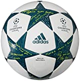 adidas Ucl Finale 16 Offizieller Spielball, White/Vapour Steel/Tech Green, 5