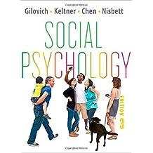 Social Psychology (Third Edition) by Thomas Gilovich (2012-08-20)