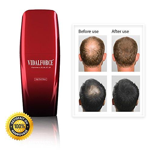 Natürliche Haarfasern. Mache dein Haar in Sekunden voller. Mit Behälter, der die Faser mit einer überraschenden Präzision und Sauberkeit, ohne schütteln und ohne Gas aufträgt. = PATENTIERT =