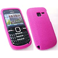 Emartbuy Nokia C3 Silicon Case / Cover / Skin Pink