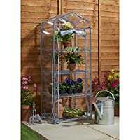 Heavy Duty Sterling 4 Tier Mini Greenhouse capacity 10kg Per Tier