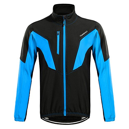 TOMSHOO Chaqueta Ciclismo Hombre/Mujer Impermeable