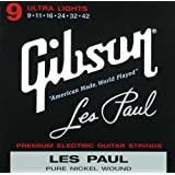Gibson Gear SEG-LP9 Les Paul Saiten .009 - .042
