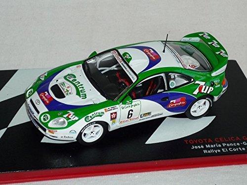 toyota-celica-gt-four-jose-maria-ponce-gaspar-leon-rallye-el-corte-ingles-1996-rally-1-43-altaya-by-