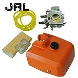 JRL Carburateur + tuayu d'essence + filtre à air avec Couvercle pour STIHL 029 039 310 390 MS290 MS310 MS390