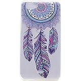 Para Wiko Pulp Fab 4G (5,5 pulgadas) Cáscara ZeWoo® Carcasa y Funda de Silicona - MM061 / Carillón de viento azul
