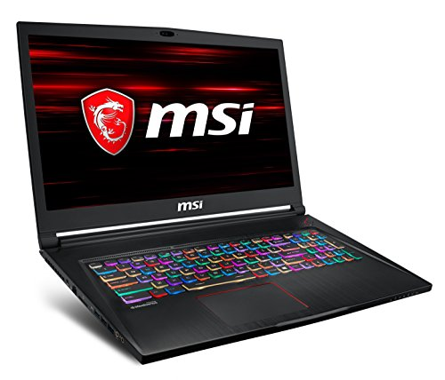 MSI GS73 i7 17.3 inch HDD+SSD Black
