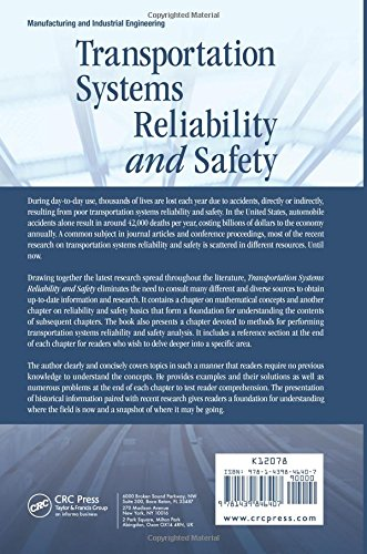 Transportation Systems Reliability and Safety