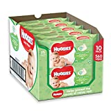 Huggies Natural Care Baby Wipes - 10 Packs (560 Wipes Total)