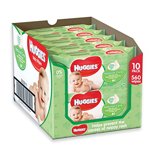 Huggies Natural Care Baby Wipes – 10 Packs (560 Wipes Total) 51KDqLKmBSL