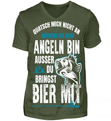 Cooles Angel Fun T-Shirt Leg dich niemals mit einem Angler an  Angeln   Fishing
