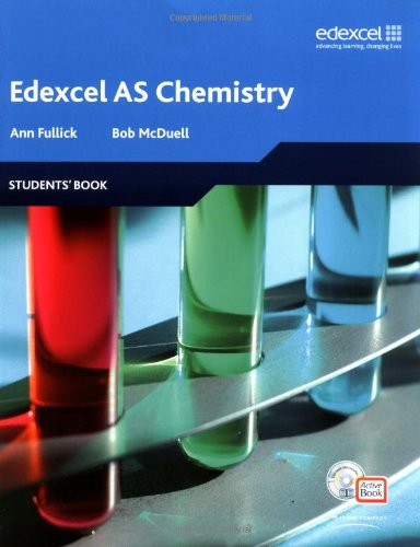 Edexcel A Level Science: AS Chemistry Students' Book with ActiveBook CD (Edexcel GCE Chemistry)
