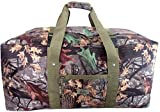36 Explorer Wildland -Mossy Oak Realtree Like- Hunting Camo Heavy Duty Duffel Bag - Luggage Travel Gear Bag by Explorer