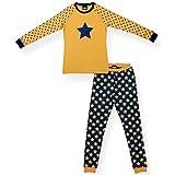 #7: Ventra Girls NightwearSet Stars Yellow