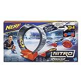 Hasbro Nerf Nitro E2289EU4 Speedloop Stunt Set, Fahrzeugblasterset