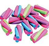 60 ~ Colorful Twist Erasers ~ Approx. 1....