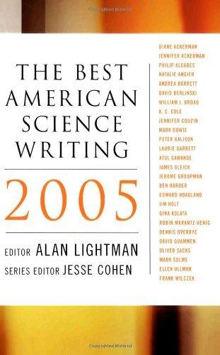 Portada del libro The Best American Science Writing 2005 by Alan P. Lightman (25-Nov-2005) Paperback