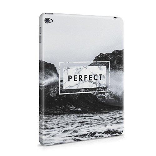 Perfect Surfing Sommer Hawaii Tropical Paradise Ocean Waves Tumblr Dünne Rückschale aus Hartplastik für iPad Mini 4 Tablet Hülle Schutzhülle Slim Fit Case cover (Aloha-snap)