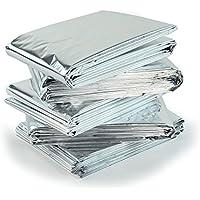 5x alta calidad Paquete de emergencia supervivencia mantas–reflectante para mantener el calor corporal