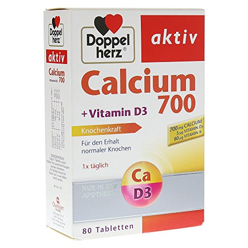 St 700 (Doppelherz aktiv Calcium 700 + Vitamin D3, 80 St)