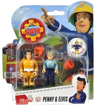 feuerwehrmann sam elvis figur Feuerwehrmann Sam - Spiel Figuren Set II - Penny & Elvis