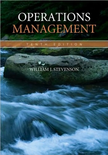 Operations Management by William Stevenson(2008-10-28)
