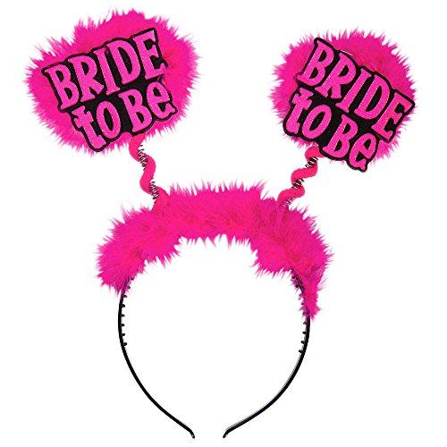 Widmann 8849E - Haarreifen mit Dem Aufdruck Bride to be, One Size