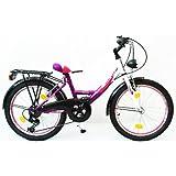 20 Zoll Kinderfahrrad Cityfahrrad City Fahrrad Citybike Mädchenfahrrad Rad STVO REFLEX LADY DELUXE