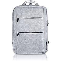 luyada 15.6Laptop Bag Business Zaini da viaggio collegio Bookbag Zaino Zaino Zaino, Grigio