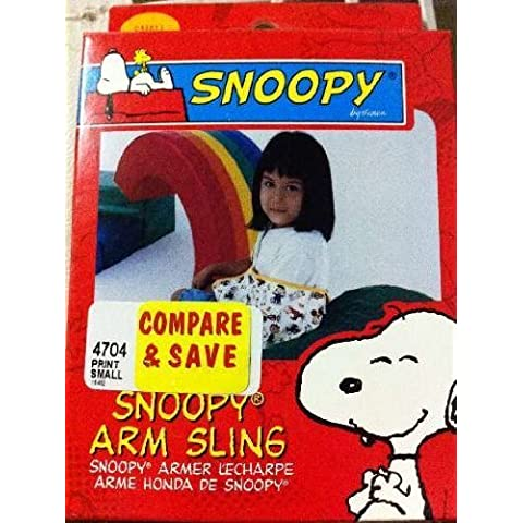 Sportaid Pediatric Arm Sling Snoopy SM by