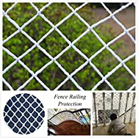 Safe Net Balcony Protection Net Children Safety Net,Durable Weatherproof Balcony/Stair Railing Safety Net Baby Fall Protection Safety Net ,Multiple Sizes