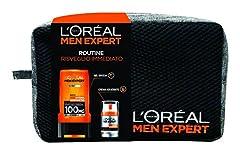Idea Regalo - L'Oréal Paris Men Expert Confezione Regalo Uomo Hydra Energetic, Gel Doccia Hydra Energetic e Crema Idratante Viso Hydra Energetic