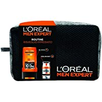 L'Oréal Paris Men Expert Confezione Regalo Uomo Hydra Energetic, Gel Doccia Hydra Energetic e Crema Idratante Viso Hydra Energetic