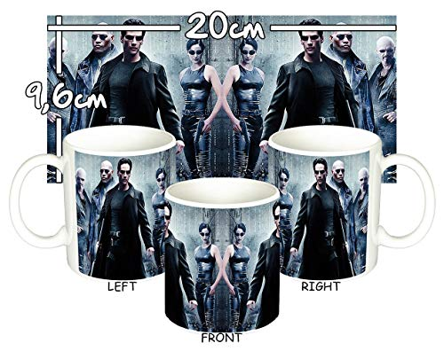 The Matrix Neo Trinity Morfeo Keanu Reeves Tasse Mug (Matrix Neo Trinity)