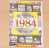 Geburtstagskarte 1984 mit Video-CD Jahreschronik