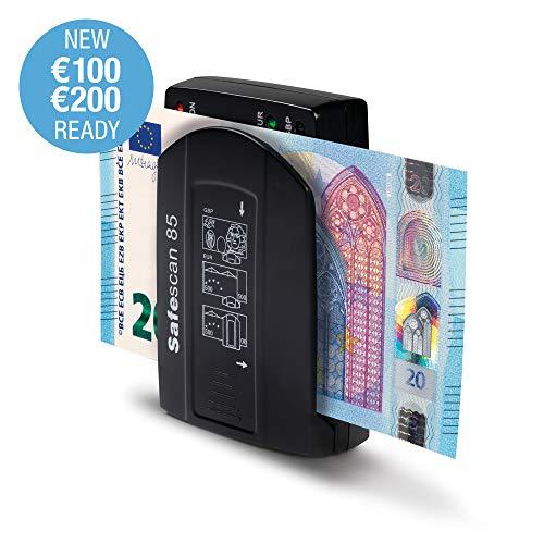 Safescan 85 - Detector portátil automático para billetes de Euro y Libras...