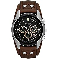 Fossil End-of-season Chronograph Black Dial Men's Watch - CH2891