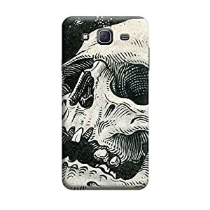Digi Fashion Designer Back Cover with direct 3D sublimation printing for Samsung Galaxy J7 (2016)