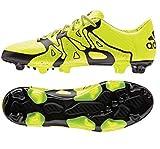 adidas Herren X15.3 FG/AG Fußballschuhe, Gelb Solar Yellow/Core Black, 42 EU