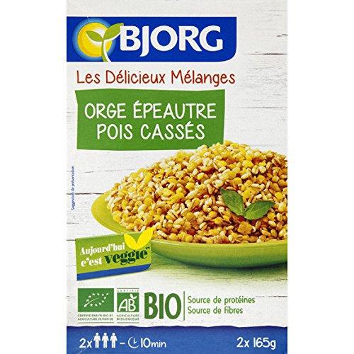 bjorg Céréales & légumes secs orge épeautre lentilles pois bio ( Prix unitaire ) - Envoi Rapide Et Soignée