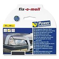fix-o-moll Power-Band premium 25 m x 48 mm selbstklebend schwarz, 3563098