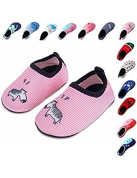 Laiwodun zapatos de niño Zapatos de agua de natación Niños Zapatos de niños descalzo Aqua calcetines para la piscina...
