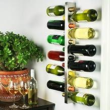 Wine Bar Estante de vino contemporáneo para 12 botellas, bar @ drinkstuff Soporte de vino