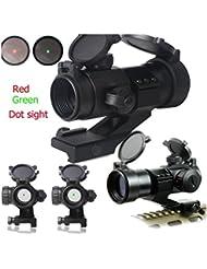 Latinaric 4 MOA Zielfernrohr Scope Leuchtpunktvisier Red Green Dot Visier
