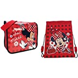 Trademark Collections Minnie Mouse Mad About Minnie Trainer Bag & Despatch Bag (2 bags)