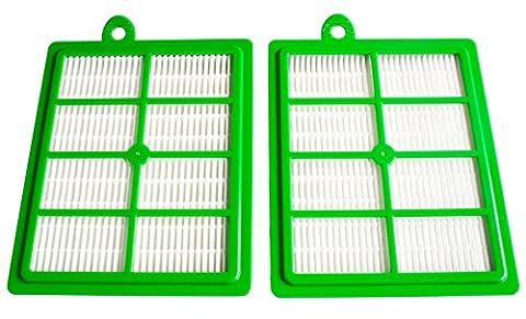 2 HEPA Filtres adaptables sur différents modèles AEG, Philips, Electrolux,