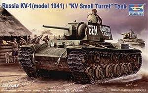 Trumpeter 356  - Ruso KV-1 (1941) del Tanque KV pequeña torreta
