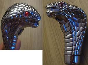 54545 Led Snake - Pommeau de levier de vitesse en forme de serpent avec LED rouge - Universel pour tous les véhicules sans RGA , , , , , , Mitsubi, , Peut, , Seat, ,