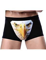 Smile YKK Homme Boxer Underwear Respirant Model Sous-vêtement Slip Lingerie